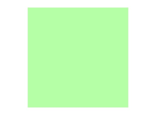 Filtre gélatine ROSCO PALE GREEN - feuille 0,53 x 1,22