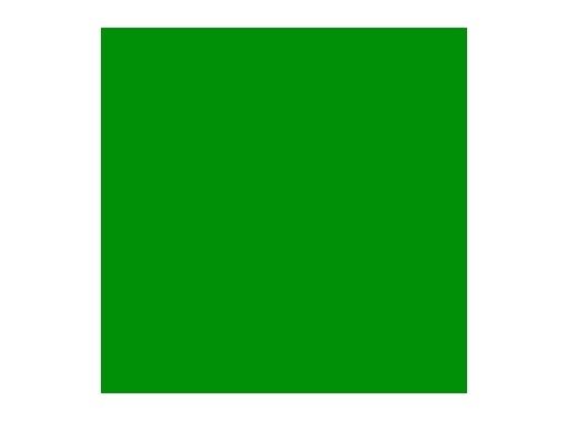 Filtre gélatine ROSCO PRIMARY GREEN - rouleau 7,62m x 1,22m