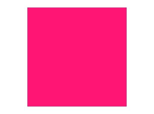 Filtre gélatine ROSCO BRIGHT ROSE - feuille 0,53 x 1,22