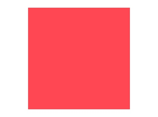 Filtre gélatine ROSCO PINK - feuille 0,53 x 1,22