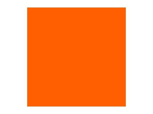 Filtre gélatine ROSCO DEEP ORANGE - feuille 0,53 x 1,22