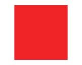 Filtre gélatine ROSCO FLAME RED - rouleau 7,62m x 1,22m
