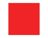 Filtre gélatine ROSCO FLAME RED - rouleau 7,62m x 1,22m