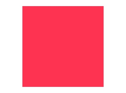 ROSCO • PALE RED feuille 0,53 x 1,22