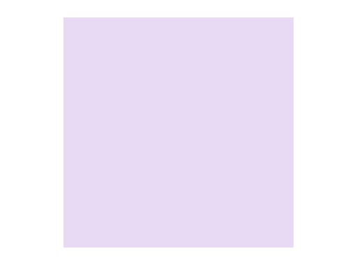 Filtre gélatine ROSCO LILAC TINT - feuille 0,53 x 1,22