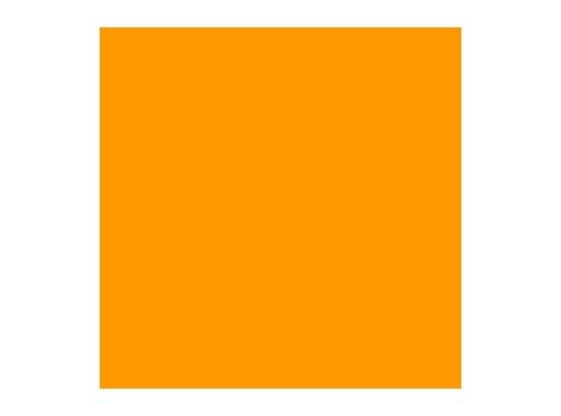 ROSCO • CHROME ORANGE feuille 0,53 x 1,22