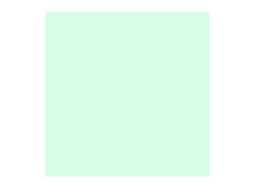 Filtre gélatine ROSCO COSMETIC EMERALD - feuille 0,53 x 1,22