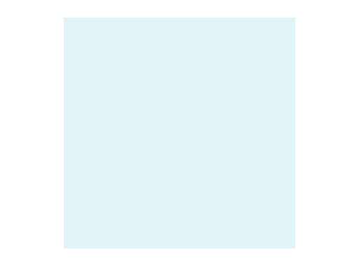 Filtre gélatine ROSCO COSMETIC AQUA BLUE - feuille 0,53 x 1,22