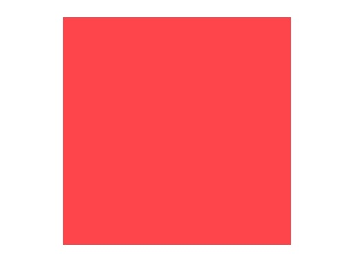 Filtre gélatine ROSCO ROSY AMBER - rouleau 7,62m x 1,22m