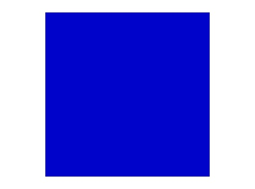 Filtre gélatine ROSCO ZENITH BLUE - feuille 0,53 x 1,22