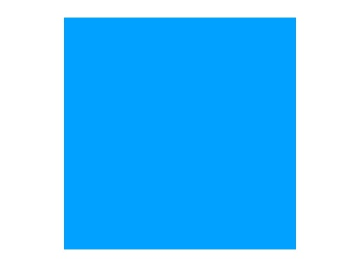 Filtre gélatine ROSCO TRUE BLUE - feuille 0,53 x 1,22