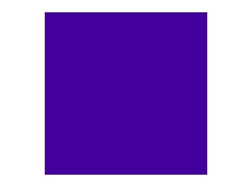 Filtre gélatine ROSCO PALACE BLUE - feuille 0,53 x 1,22