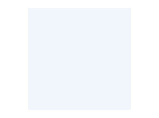 Filtre gélatine ROSCO BLUE DIFFUSION - feuille 0,53 x 1,22