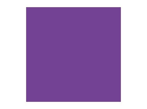 Filtre gélatine ROSCO ROSE PURPLE - feuille 0,53 x 1,22