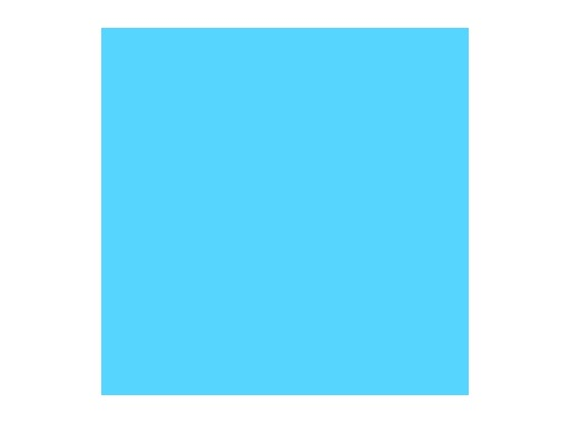 Filtre gélatine ROSCO LIGHTER BLUE - feuille 0,53m x 1,22m