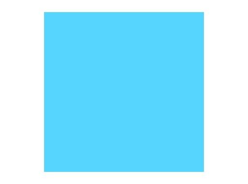 Filtre gélatine ROSCO LIGHTER BLUE - feuille 0,53m x 1,22m