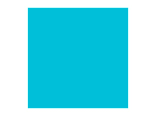 Filtre gélatine ROSCO SPECIAL STEEL BLUE - feuille 0,53 x 1,22