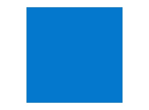 Filtre gélatine ROSCO CORNFLOWER - feuille 0,53 x 1,22
