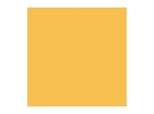 Filtre gélatine ROSCO FULL CT STRAW - feuille 0,53 x 1,22