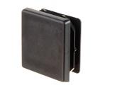 Embout plastique noir finition pour barre carrée 50 x 50 mm