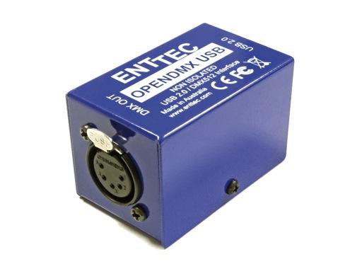 ENTTEC • Open DMX USB Widget boxed
