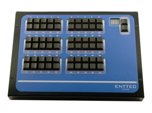 ENTTEC • Wing SHORTCUT 60 touches
