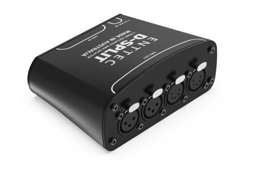 Splitter ENTTEC • D-Split 4 sorties 2 *XLR3 + 2*XLR5