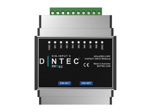 ENTTEC • DIN-INPUT8