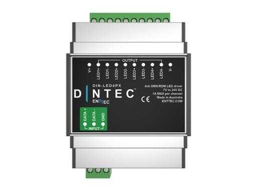 ENTTEC • DIN-LED4PX