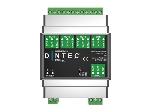 ENTTEC • DIN-RDS4