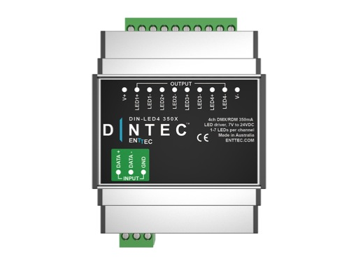 ENTTEC • DIN-LED4-350X