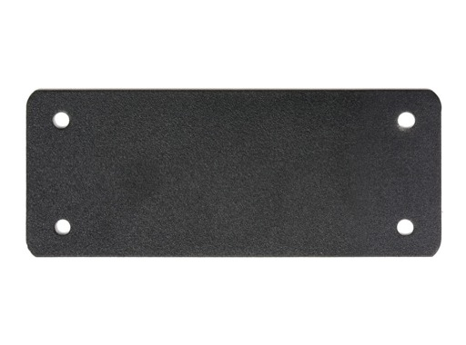 Plaque de bouchage • Embase Harting 16/ 40/ 72 120 x 50mm