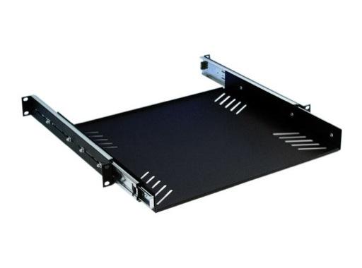 """Etagère 19"""" • 412 x 380mm pour clavier téléscopique"""