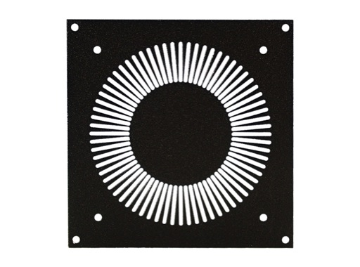 Plaque • 160 x 134mm - pour ventilateur 120x120 mm