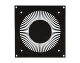 Plaque • 160 x 134mm - pour ventilateur 120x120 mm-plaques-pour-ventilateur
