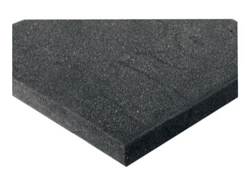 Mousse PE noire • 2000 x 1000 x 20 mm