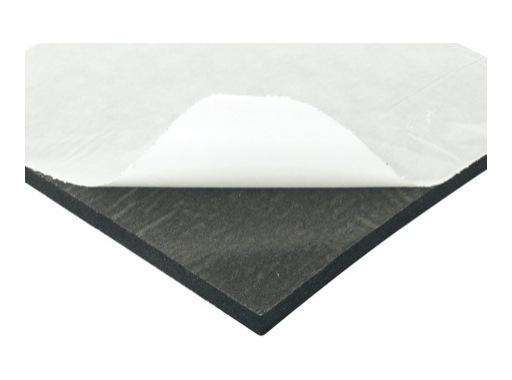 Mousse PE noire • auto-adhésive 2000 x 1000 x 15 mm