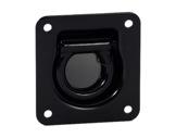 Accroche + anneau noir • 102 x 95mm type John Meyer-flight-cases