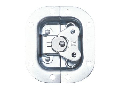 Fermeture mini • Encastrable dimensions 80 x 72mm, int 56 x 48mm, P 9,6mm