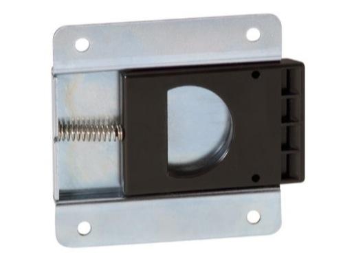 Fermeture • Targette pour porte de rack, dimensions 82 x 80 x 8mm