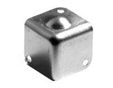 Coin • 37 x 37 x 1mm avec boule-flight-cases