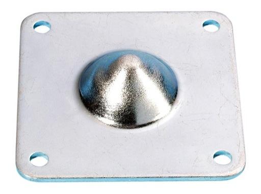 Butée • Mâle acier 63 x 63 x 15mm pour FLY5002