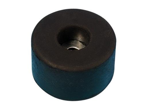 Butée caoutchouc • noire Ø 38mm, hauteur 20mm