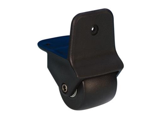 Roulette • à encastrer Ø50 mm charge max 25kg