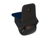 Roulette • à encastrer Ø50 mm charge max 25kg-flight-cases