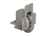 Roulette • à encastrer Ø75 mm charge max 50kg-flight-cases