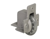 Roulette • à encastrer Ø75 mm charge max 50kg-roulettes