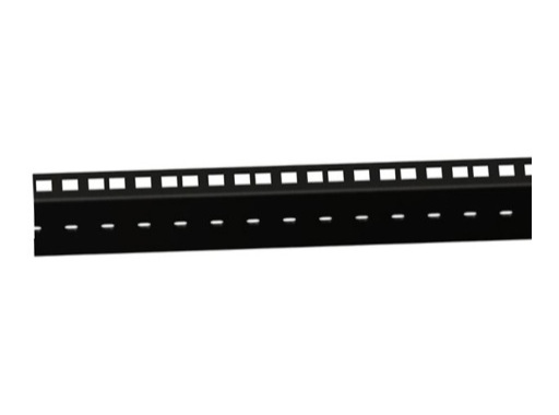 Profilé acier noir • Rackage double longueur 2m 76 x 21 x 2mm