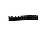 Profilé acier noir • Rackage double longueur 2m 76 x 21 x 2mm-flight-cases
