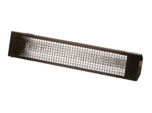 DTS • Réglette 18W 60cm avec grille + réflecteur angle 105°